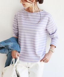 and Me.../ポンチ長袖ボートネックTシャツ トップス/502037749