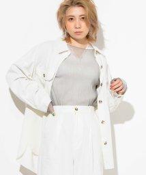 WEGO/WEGO/【セットアップ対応商品】リネンブレンドビッグシルエットシャツ/502885593