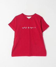 To b. by agnes b./W984 TS ロゴTシャツ/503019547