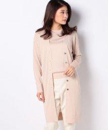 Leilian/【my perfect wardrobe】ロングカーディガン/503047833