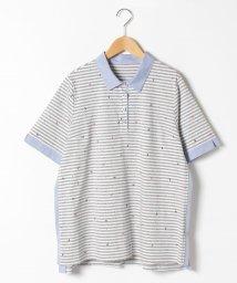 Leilian PLUS HOUSE/【プラス企画】ポロシャツ/503047985