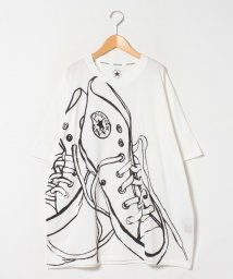 MARUKAWA/【CONVERSE】コンバース 大きいサイズ シューズプリント 半袖Tシャツ/503080109