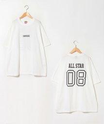MARUKAWA/【CONVERSE】コンバース 大きいサイズ ナンバープリント 半袖Tシャツ/503080112