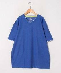 MARUKAWA/【cosby】コスビー 大きいサイズ 無地 ドライワッフル Vネック 半袖Tシャツ/503080120