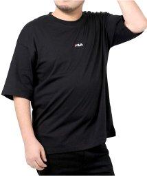 MARUKAWA/【別注】【FILA】フィラ 大きいサイズ ビッグシルエット ミニロゴ刺繍 半袖Tシャツ ユニセックス/503080125