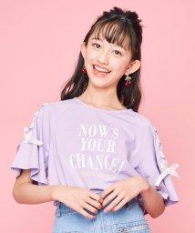 JENNI love/レースアップTシャツ/503088919
