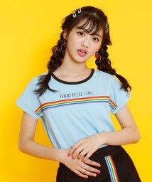 JENNI belle/【WEB限定】レインボーテープTシャツ/503115841