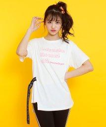 JENNI belle/サイドベルトロング丈Tシャツ/503115848
