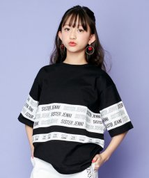 SISTER JENNI/ラインロゴ切替半袖BIGTシャツ/503116144