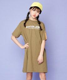 SISTER JENNI/MA-1風ポケットデザインワンピ/503116146