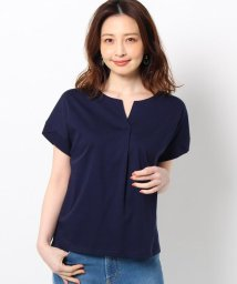 THE SHOP TK/【ONSTYLE/テレワーク/WEB会議/14(XL)WEB限定サイズ】シルケットスムースカットソー/503116671