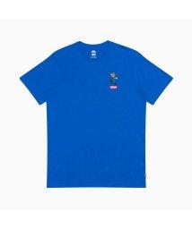 Levi's/グラフィッククルーネックTシャツ LUIGI LC PATCH BLUE/503116914