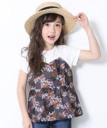 devirock/ビスチェ風レイヤードTシャツ/503117462