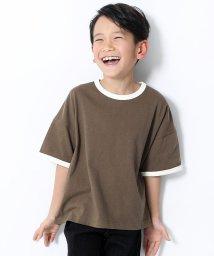 devirock/BIGシルエットリンガーTシャツ/503117465
