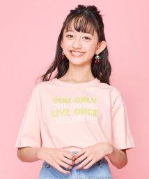 JENNI love/襟スリットTシャツ/503117556