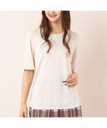 PISANO/ドライスムース・クルーネックTシャツ[セットアップ対応]/503118248