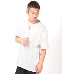 LUXSTYLE/BIGシルエット無地半袖Tシャツ/Tシャツ メンズ 半袖 無地 ビッグシルエット 春 夏/503119057
