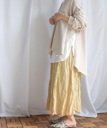 ARGO TOKYO/しわ加工マキシスカート/503119159