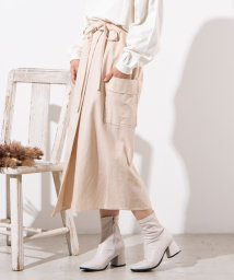 WEGO/WEGO/【セットアップ対応商品】リネンブレンドロングスカート/502885591