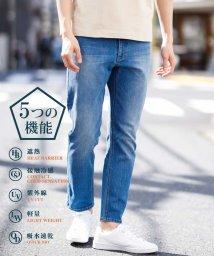 a.v.v (MEN)/【熱中症対策 5つの機能】DENIM5ポケットパンツ[WEB限定サイズ]【SHELTECH】/502981355