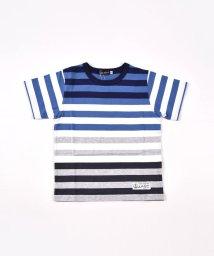 BeBe/パネルボーダーTシャツ/503049513