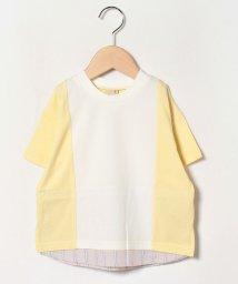 petit main/裾シャツ切り替えTシャツ/503088153