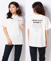 INGNI/BACKロゴTシャツ                               /503106885