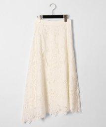 GRACE CONTINENTAL/カットワーク刺繍ロングスカート/503120275