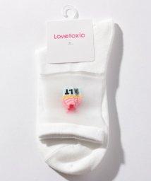 Lovetoxic/モチーフシースルーソックス/503089924