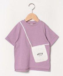 petit main/ポシェットトロンプルイユTシャツ/503089938