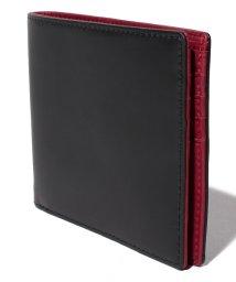 Otias/オティアス Otias /コードバン調牛革バイカラー二つ折り財布/503107156