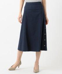 J.PRESS LADIES/【シワになりにくい】洗えるFITTY FLAX スカート/503120708