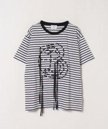 LANVIN en Bleu/LEBロゴスピンドルTシャツ/503022884