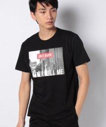 WEGO/モノトーンガールフォトボックスTシャツ/503026634