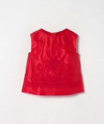 LANVIN COLLECTION/コットンシルクサテン刺繍ブラウス/503038573
