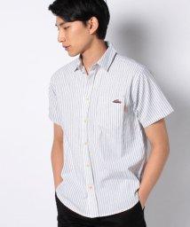 KRIFF MAYER/ミニ刺繍ストライプシャツ/503092850