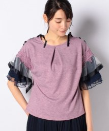 axes femme/ボリューム袖Tシャツ/503110725