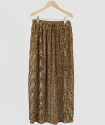 FIKA./FIKA. Leopard pleats Skirt/503121417