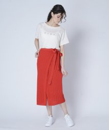 FIKA./unfil Wrap Knit Skirt/503121430