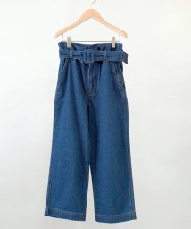 FIKA./AOS Pants With Belt Mid Wash/503121432