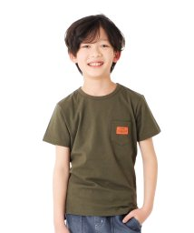 GLAZOS/天竺・ポケットネームベーシック半袖Tシャツ/503122315