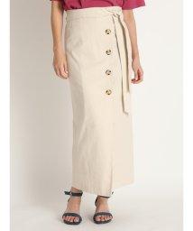 Mila Owen/巻き風ストレートロングスカート/503122336
