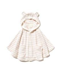 gelato pique Kids&Baby/'スムーズィー'ピンボーダー baby ポンチョ/503122702