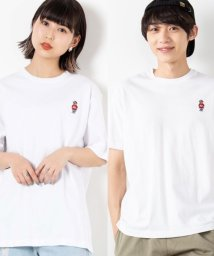 WEGO/WEGO/ベア刺繍Tシャツ/502930613
