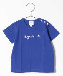 agnes b. ENFANT/S137 L TS ベビー ロゴTシャツ/503016064
