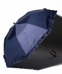 LANVIN en Bleu/リボン柄折りたたみ傘/503022903