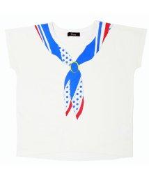 UNICA/【レディスサイズ】【2020春夏】スカーフプリントTシャツ XS~M/503023771