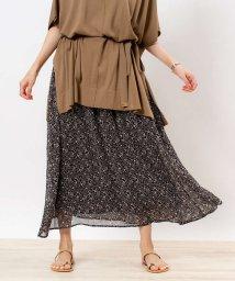 abahouse mavie/【WEB先行販売】フラワープリントスカート/503035833