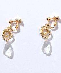 WYTHECHARM/シャンデリア装飾輪っかイヤリング/503107123