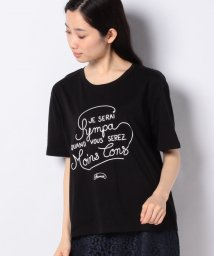MELROSE Claire/【Shaman】オーバーサイズロゴプリントTシャツ/503109124